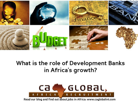 The role of Development Banks in Africa's growth