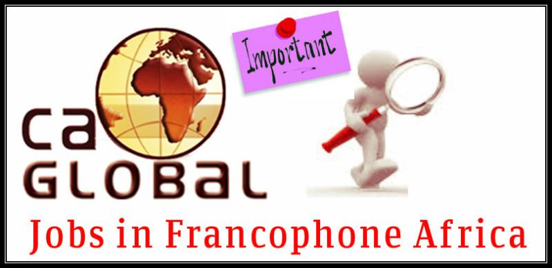 Jobs in Francophone Africa