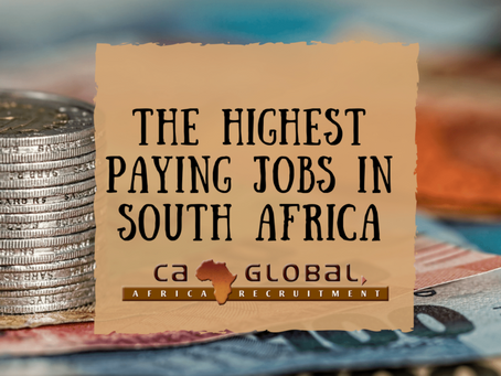 These are the Highest Paying Jobs in South Africa