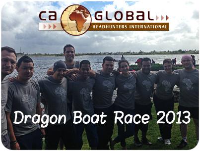 CA Global Dragon Boat Race Team 2013