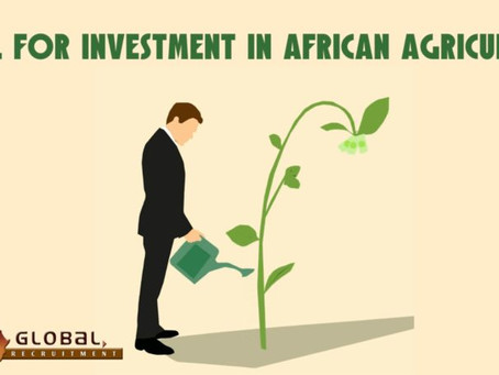 Call for investment in African agriculture