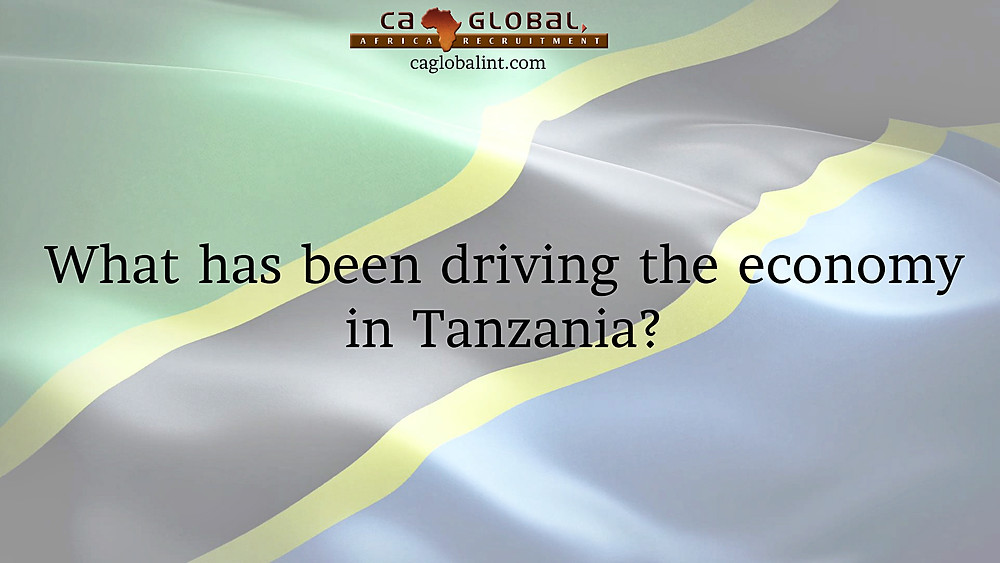 What drives the economy and jobs in Tanzania