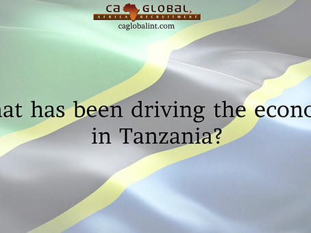 What drives economy and jobs in Tanzania?