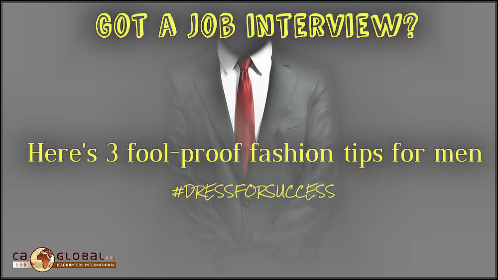 Job Interview Clothes fashion tips for men_Afrca_