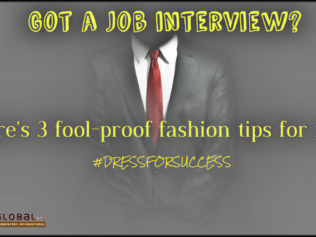 Got a job interview? Here's 3 foolproof fashion tips for men