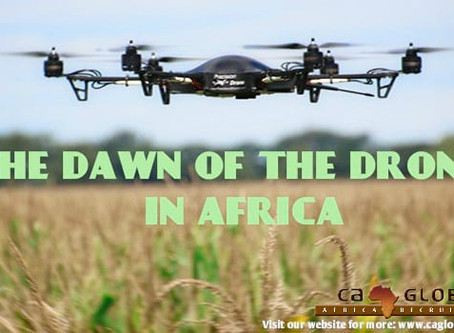 The Dawn of the Drone in Africa