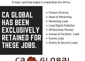 Retained Recruitment: Jobs in Senegal & Mauritius – Sporting League