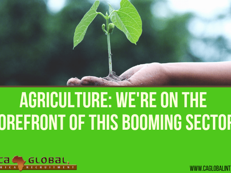 Agriculture: CA Global on the Forefront of this Booming Sector