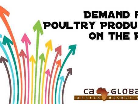 Demand for Poultry Products on the Rise