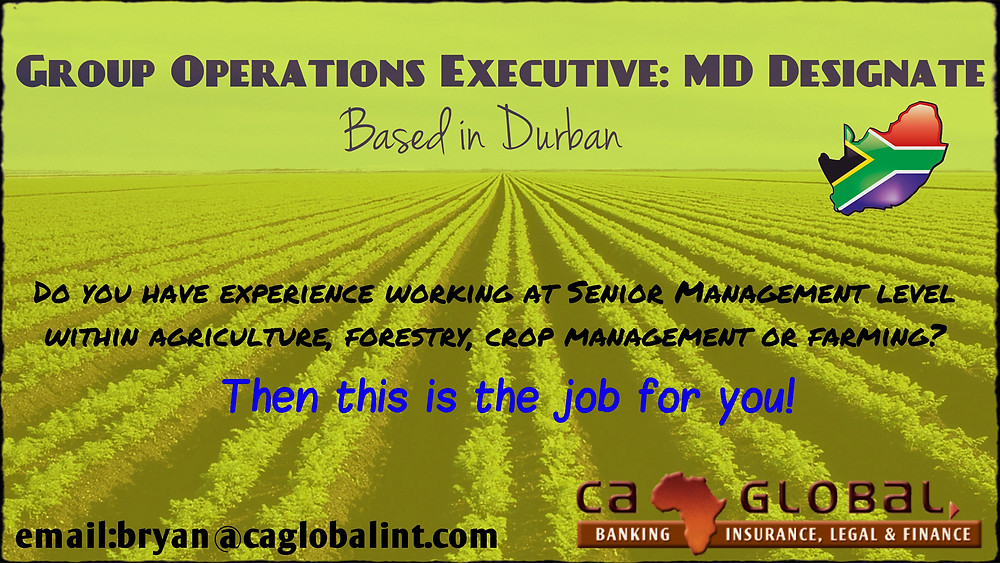 Group Operations Executive Job_ MD Designate in Durban1