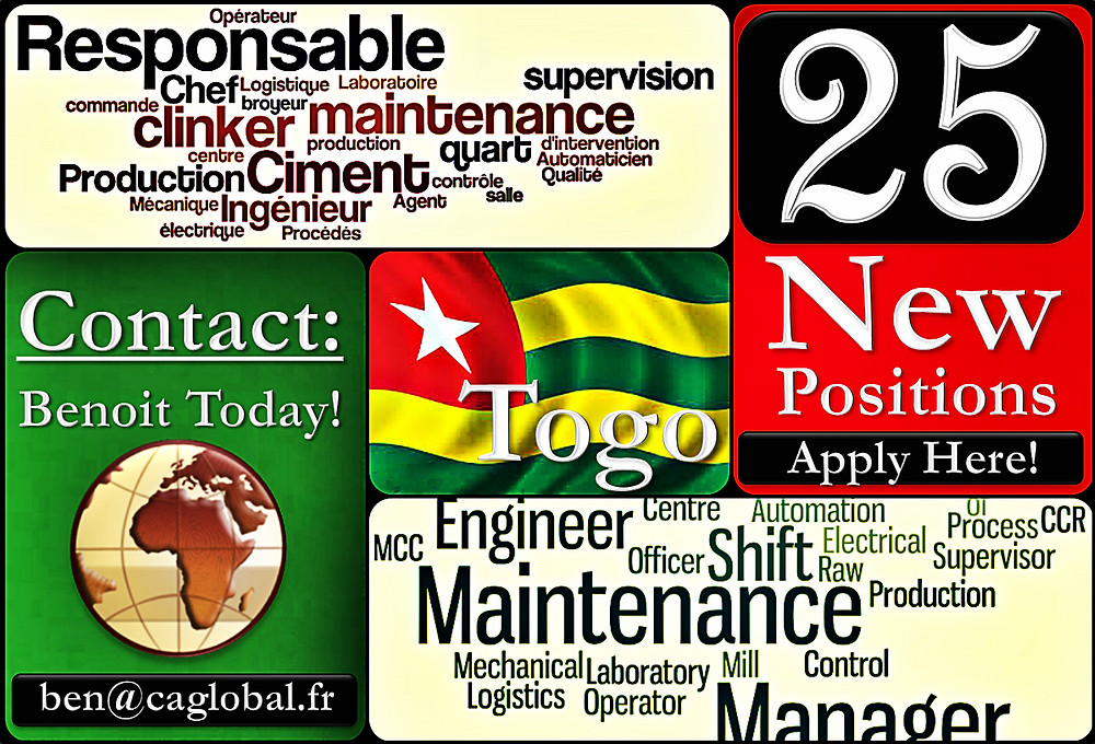 Engineering Positions in Togo Africa