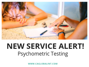 Psychometric Testing: New Service Offered at CA Global