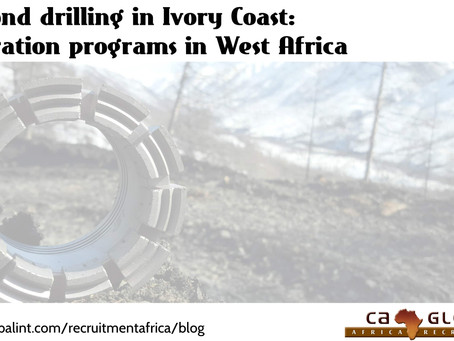 Diamond drilling in Ivory Coast: Exploration programs in West Africa