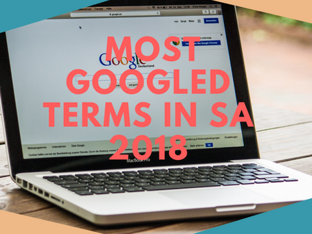 Most Searched Questions in South Africa in 2018
