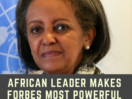 African leader makes Forbes Most Powerful Women 2018 list