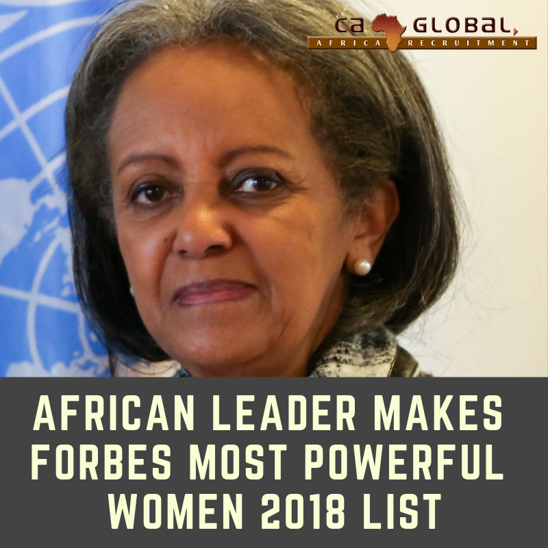 African leader makes Forbes Most Powerful Women 2018 list - CA Global