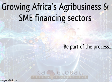 Growing Africa's Agribusiness & SME financing sectors
