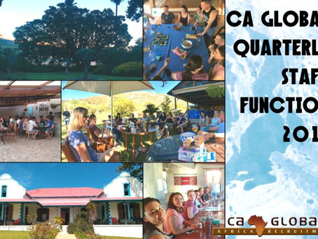 CA Global Quarterly Staff Function – A night in Nature