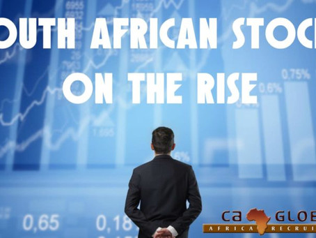 South African stocks on the rise