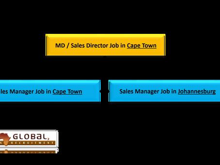 Sales Jobs in Cape Town & Johannesburg (EU, USA, Canadian or Swiss passport holders)