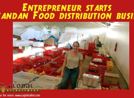 Entrepreneur starts Rwandan food distribution business