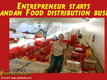 Entrepreneur starts Rwandan food distribution business