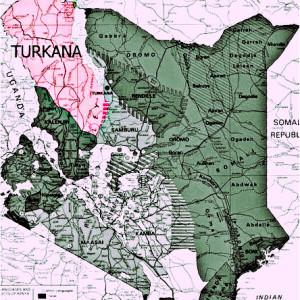 Turkana map