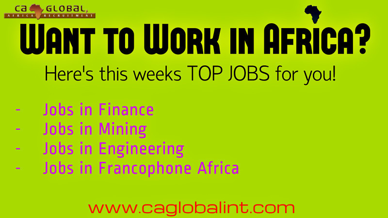 Work in Africa_TOP jobs at CA Global Headhunters