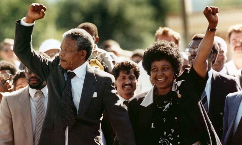 Nelson Mandela, Winnie Mandela