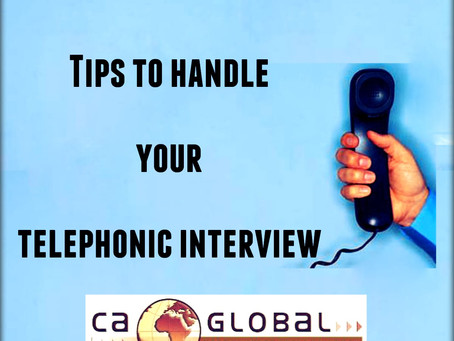 How to ace your interview: Telephonic Interviews