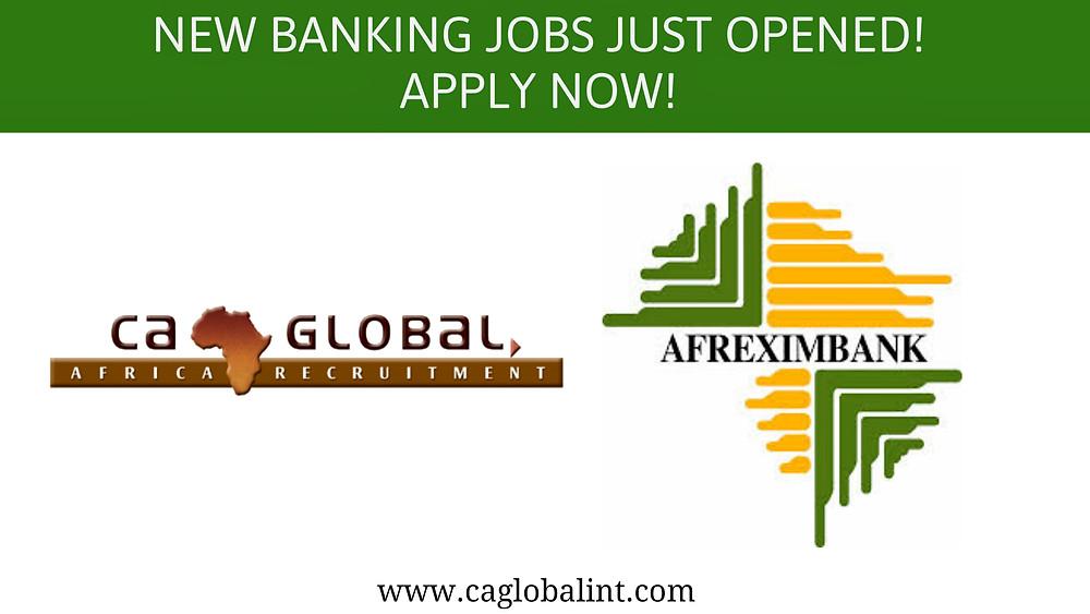 CA Global Afreximbank Jobs in Cairo Africa Jobs