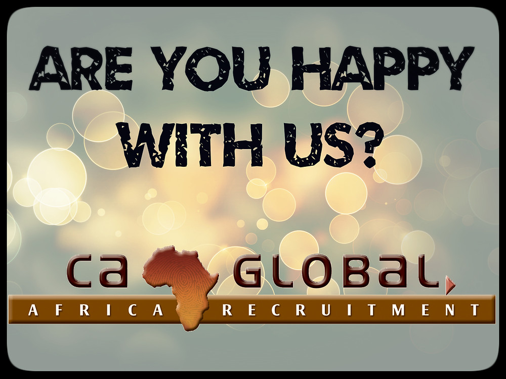 CA Global moving into Africa to offer more jobs (Newsletter)