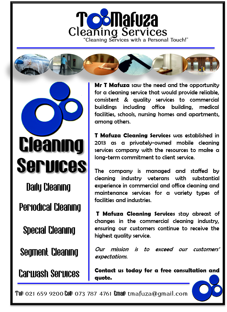 T Mafuza Cleaning Services