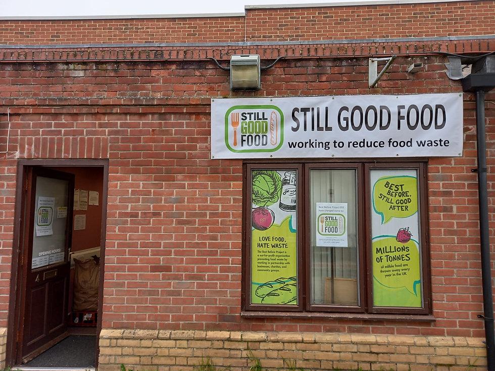Still Good Food Shop Front 2