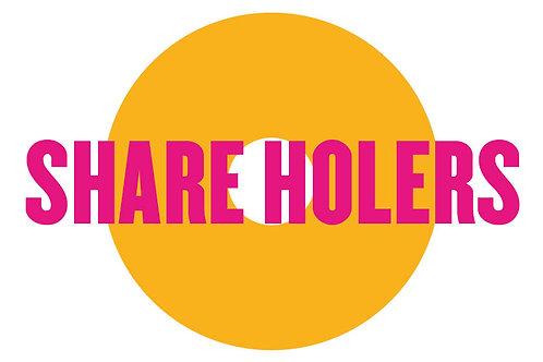 SHARE HOLERS