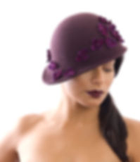 loveKisson.com london black hat headwear and accessories designer