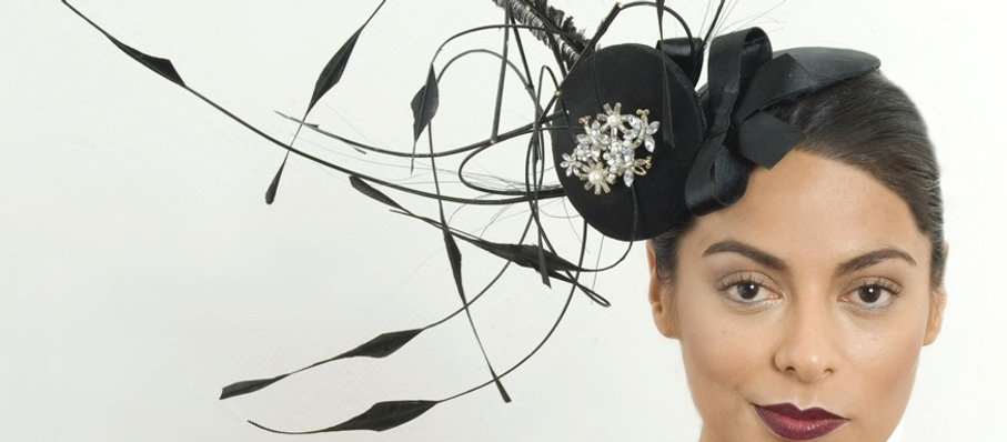 loveKisson.com london black hat headwear and accessories designer