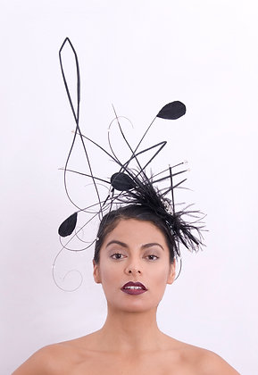 Black Musical Hat