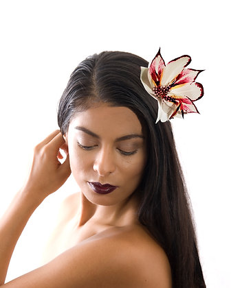 Chic Feather Flower Accessory Fascinator