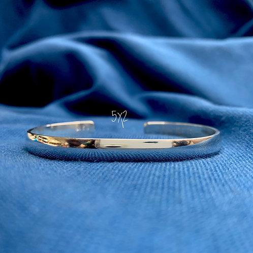 5x2 Sterling Silver Chesapeake Bay Bracelet