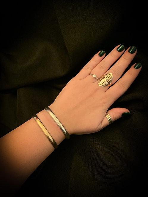 6x2 10K Yellow Gold Chesapeake Bay Bracelet
