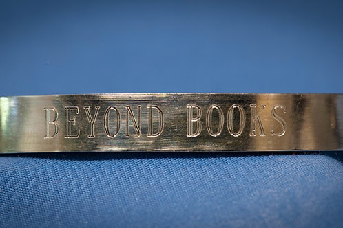 Flat Library Fundraiser Bracelet