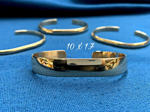10x1.7 10K Yellow Gold Chesapeake Bay Bracelet