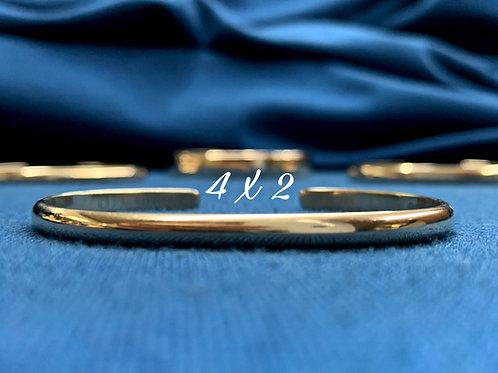 4x2 10K Yellow Gold Chesapeake Bay Bracelet