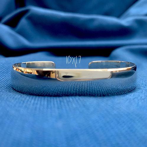 10x1.7 Sterling Silver Chesapeake Bay Bracelet