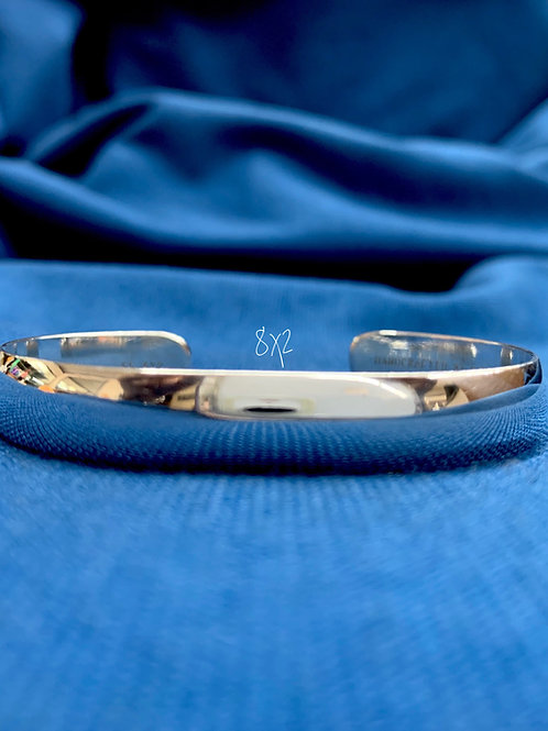 8x2 Sterling Silver Chesapeake Bay Bracelet