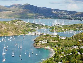 Ahoy from Antigua