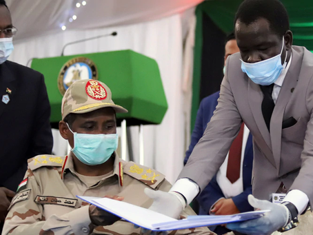 Sudanese gov't signs long-awaited peace deal with armed groups