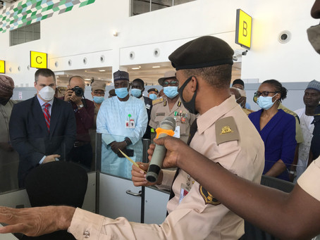 IOM, Canadian govt. equip Nigerian airports with systems to strengthen border security, management.