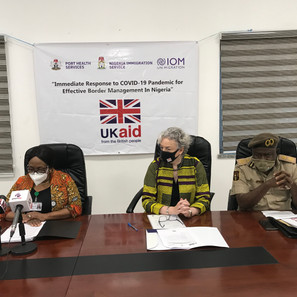 COVID-19: IOM, UK govt. provides equipment to 19 Ports of Entry in Nigeria